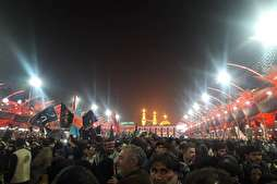 Photos of Arbaeen Commemoration in Bayn al-Haramayn